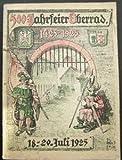 Festschrift zur 500 Jahrfeier der Zugehörigkeit Oberrads zu Frankfurt a. Main. (1425 - 1925)