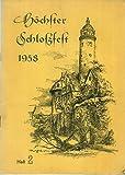 Festschrift Höchster Schlossfest 1968 vom 29. Juni bis 8. Juli