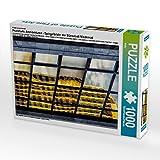 CALVENDO Puzzle Frankfurts Architekturen - Spiegelbilder der Bürostadt Niederrad 1000 Teile Lege-Größe 48 x 64 cm Foto-Puzzle Bild von Wally