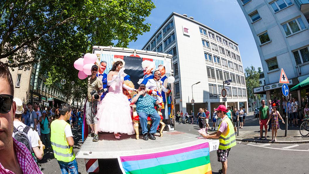Christopher Street Day in Frankfurt - ein Event für Toleranz und Lebensfreude