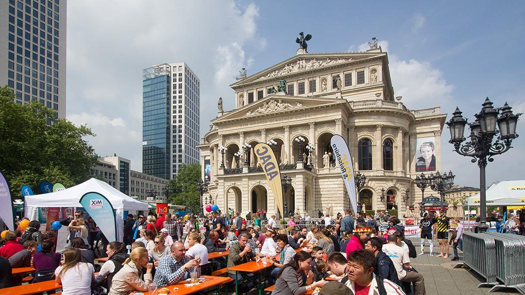Drei Wochen Party - so feiert Frankfurts ältester Verein sein Jubiläum