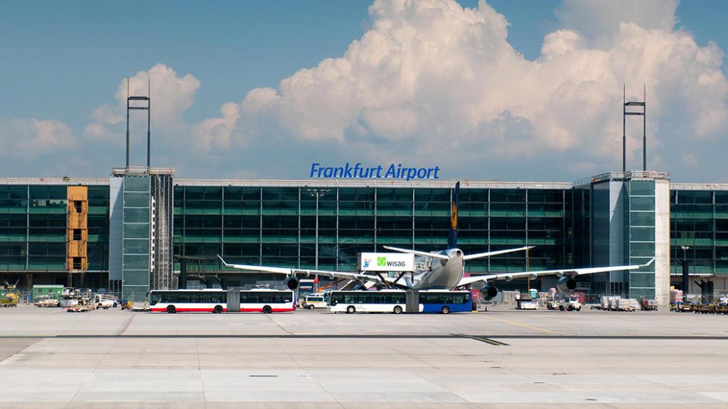 Flughafen Frankfurt - einer der größten Airports der Welt