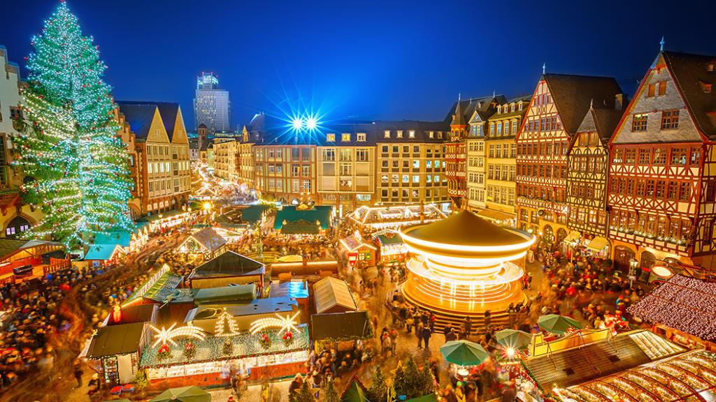 Frankfurter Weihnachtsmarkt - einer der größten Weihnachtsmärkte in Deutschland