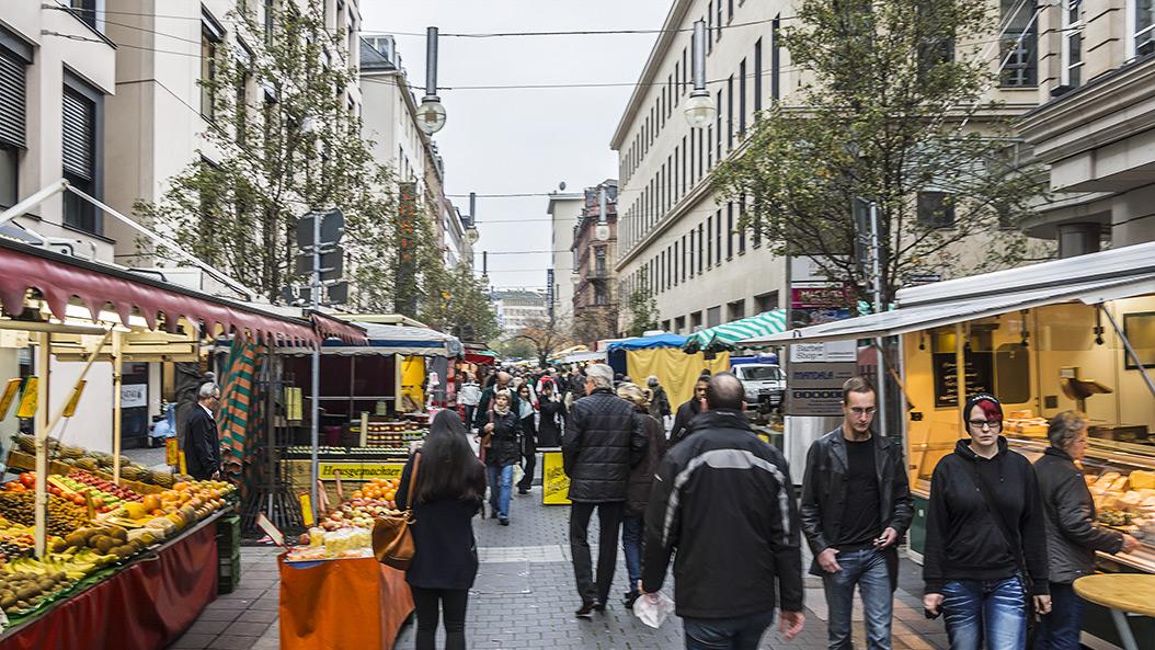 Fressgassfest - gut essen und mehr in der Frankfurter City