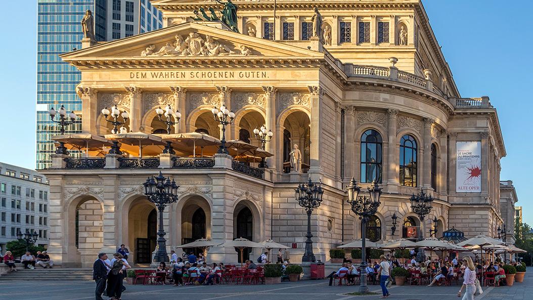 Opernplatzfest - eine Hommage an Frankfurts schönsten Platz