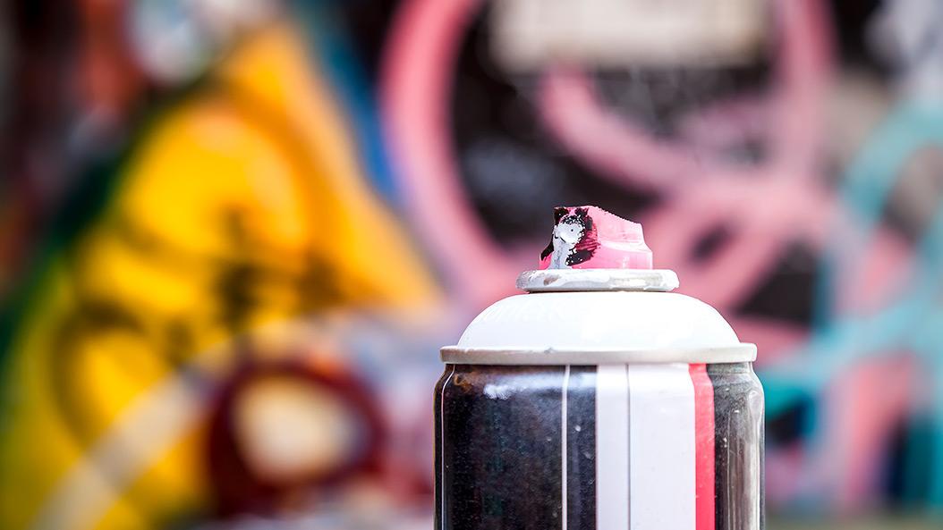 Das Bullen - Graffiti sorgt einmal mehr für großen Ärger