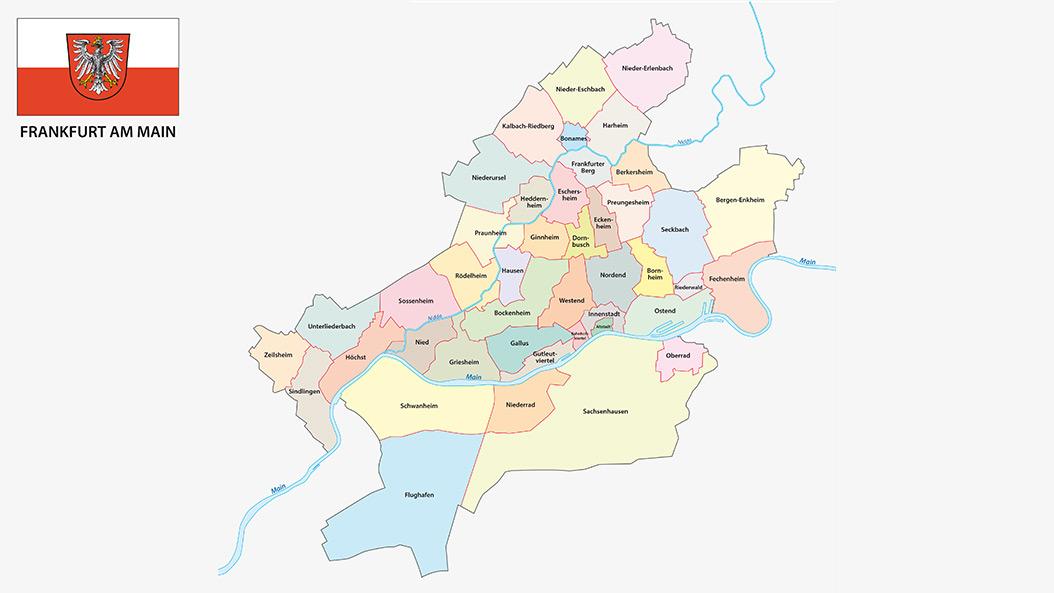 Frankfurter Stadtteile