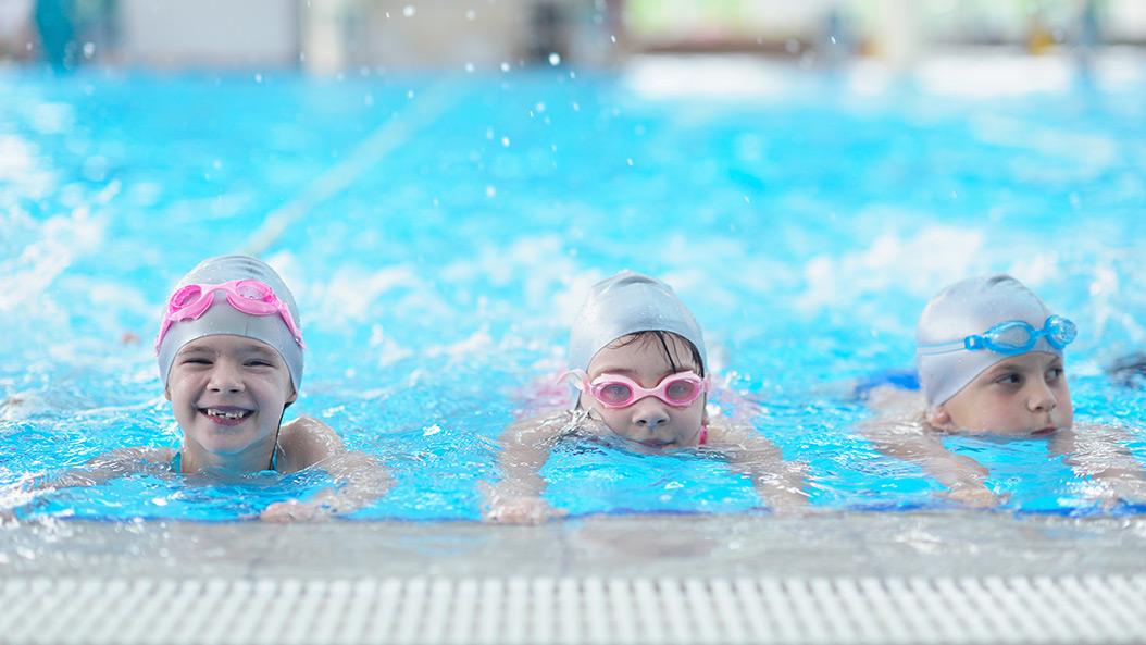 Wer schwimmen will, muss warten können