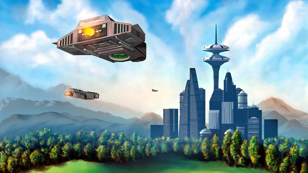 Frankfurt im Jahr 2040 - so sehen Zukunftsforscher die Stadt